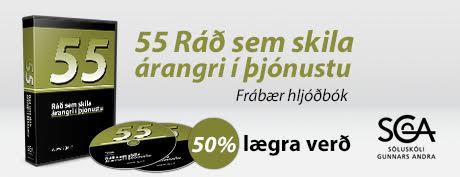 55 Ráð sem skila árangri í þjónustu.