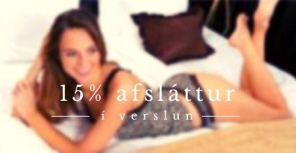 15% Afsláttur í verslun