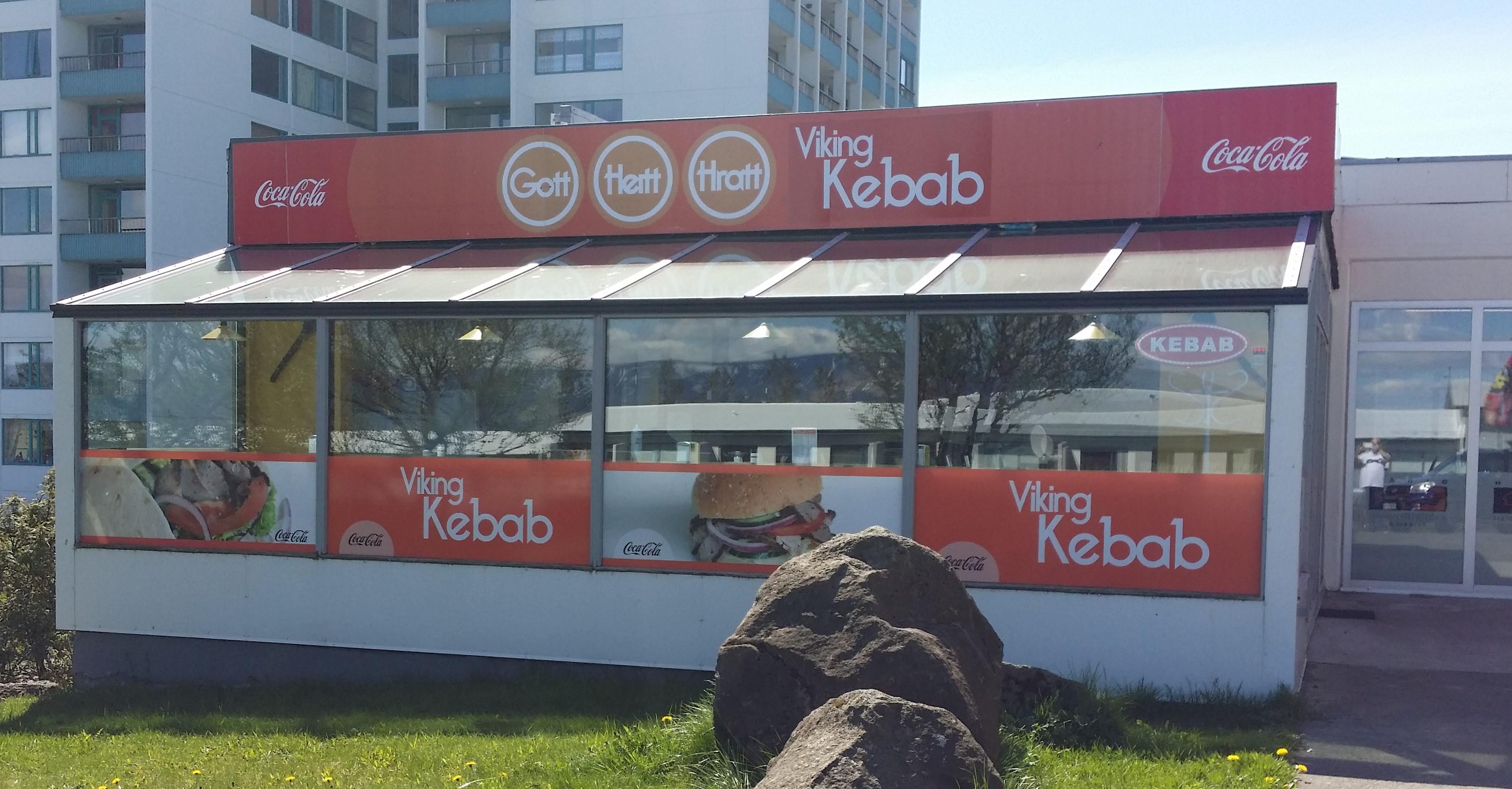 Midi Kebab með öllu 1690