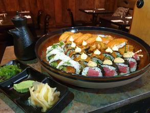 2 fyrir 1 af Sushi platta