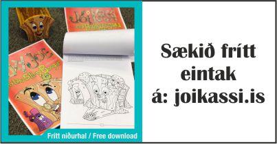 Ókeypis litabók/saga